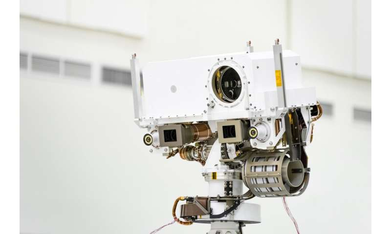 NASA 'Optometrists' verify Mars 2020 rover's 20/20 vision