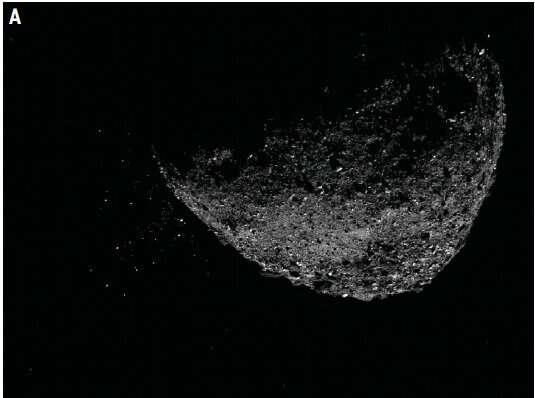 NASA's OSIRIS-REx mission explains Bennu's mysterious particle events
