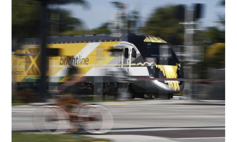 New higher-speed Florida train has highest US death rate