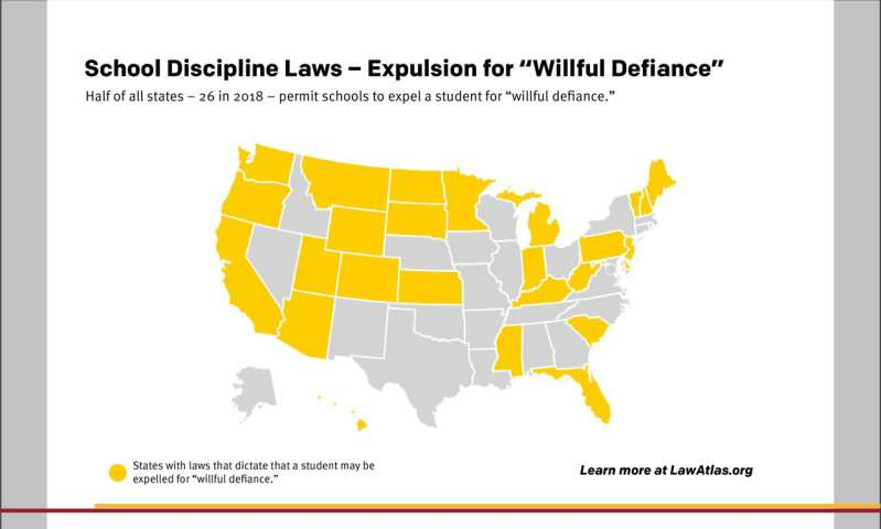 "New Legal Data Traces Almost 11 Years of State ""Zero Tolerance"" School Discipline Policies"