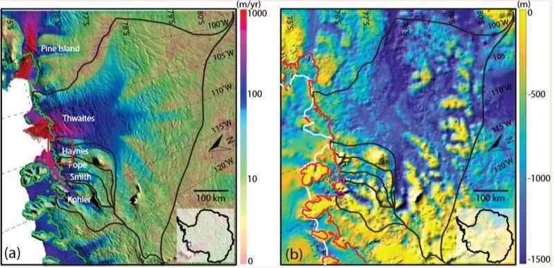 New study models impact of calving on retreat of Thwaites Glacier