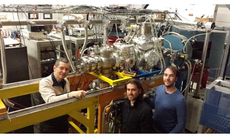 Nuclear physics -- probing a nuclear clock transition