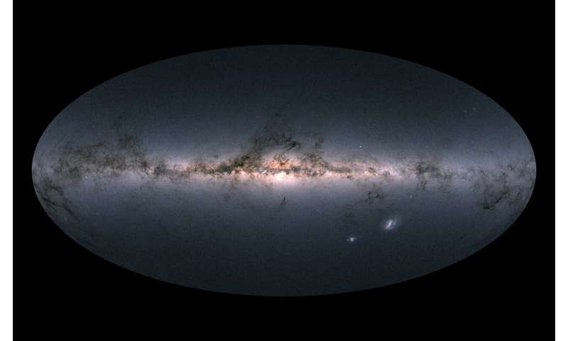 Observing Gaia from Earth to improve its star maps