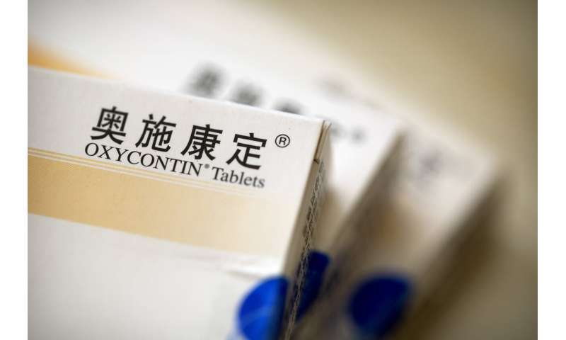 Oxy sales in China driven by misleading addiction claims
