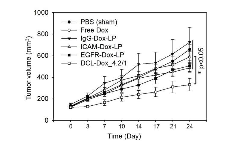 Precision-targeted liposomes curb triple-negative breast cancer, metastases in mice