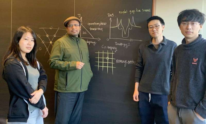 Princeton scientists discover surprising quantum effect in an exotic superconductor
