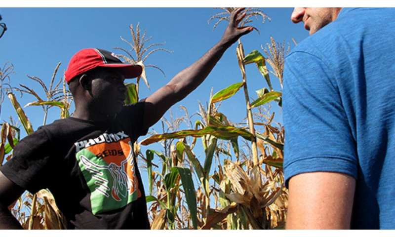 Protecting small farms in Mozambique from drought