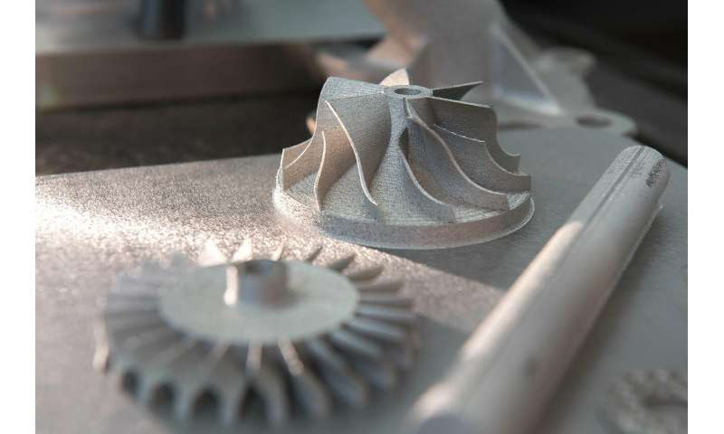 Researchers 3-D print ultra-strong steel parts from powder