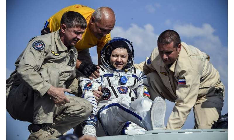 """Russian cosmonaut Oleg Kononenko joked that he was """"happy to see any kind of weather"""" after coming back from space"""