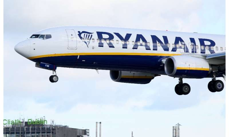 Ryanair said the minimal disruption was due to air traffic control delays