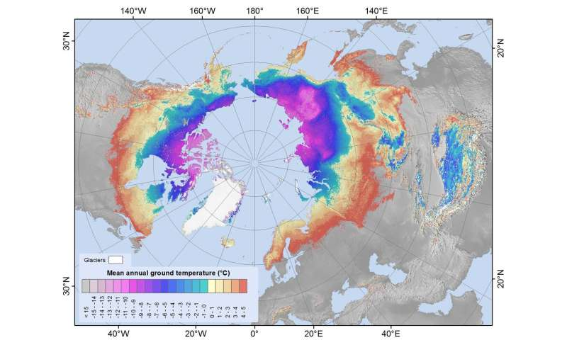 Satellites yield insight into not so permanent permafrost