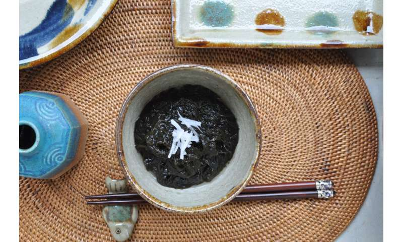Scientists crack genome of superfood seaweed, ito-mozuku