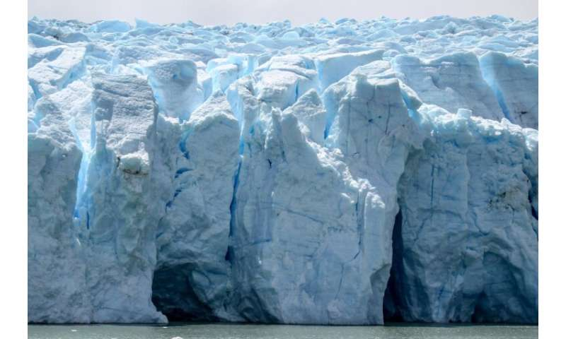 Scientists say that warm summer temperatures and high rainfall weakened the Grey Glacier's walls