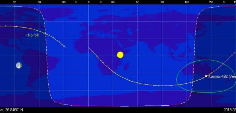Spot Failed Soviet Venus Probe Kosmos 482 in Earth Orbit