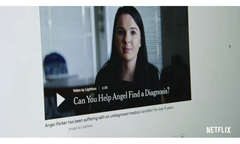 Student correctly guesses mystery disease on Netflix series 'Diagnosis'