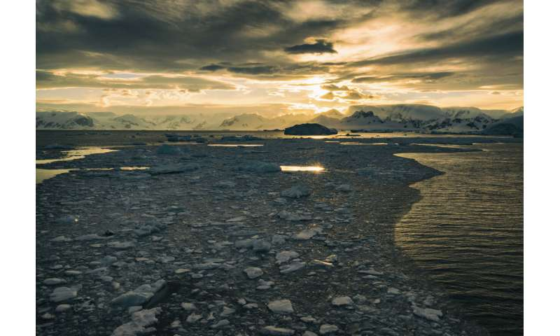 Study finds big increase in ocean carbon dioxide absorption along West Antarctic Peninsula