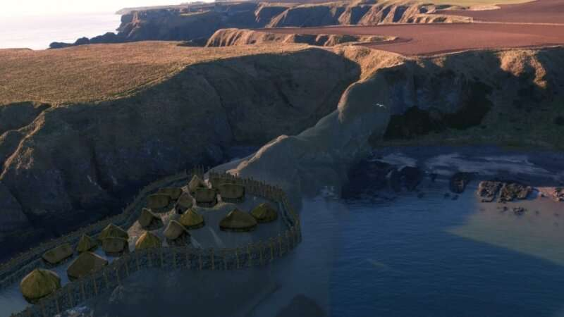 Stunning video shows how 'earliest Pictish fort' could have looked