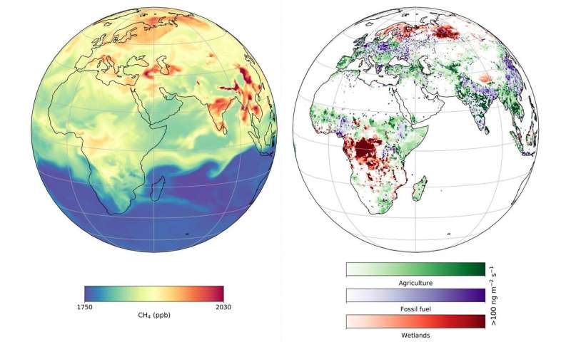 Technologies and scientific advances needed to track methane levels in atmosphere
