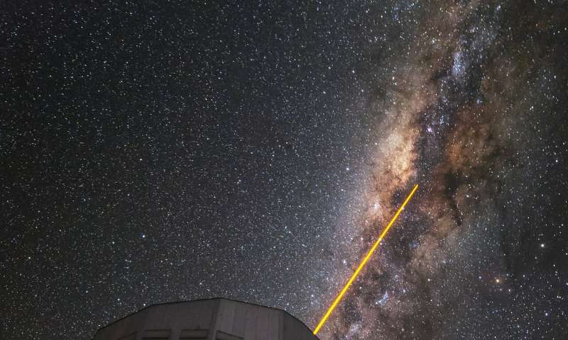Testing Einstein's equivalence principle near a supermassive black hole