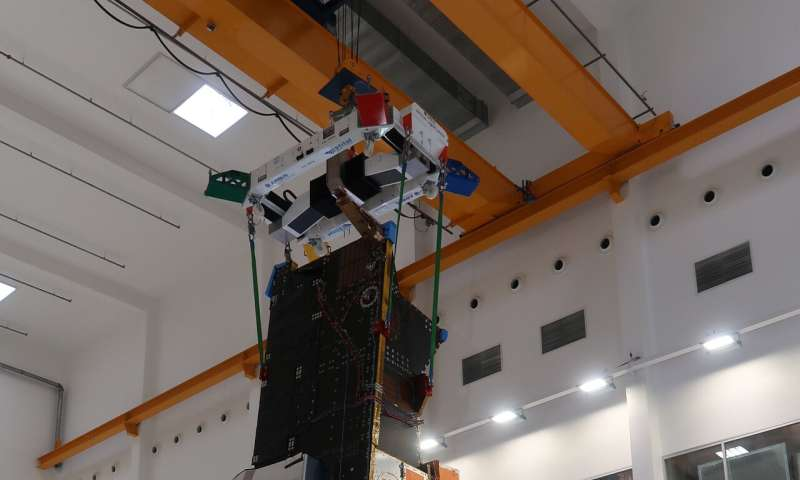 Testing time for MetOp second generation