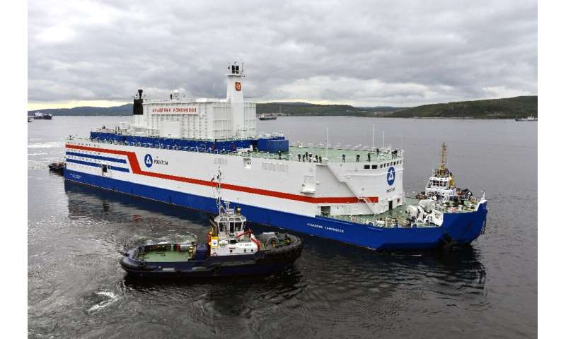 The Akademik Lomonosov, the world's first floating nuclear power plant, has completed its odyssey from the Arctic port of Murman