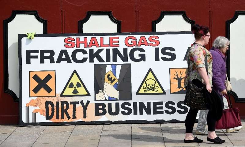 The decision to halt fracking comes weeks before Britain goes to the polls in a general election, with the issue expected to be