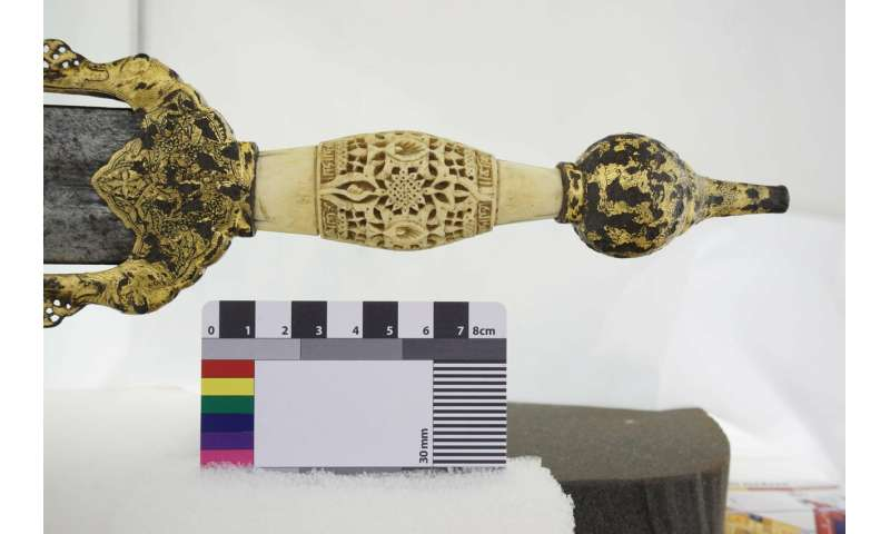 The sword of a Hispano-Muslim warlord is digitized in 3D