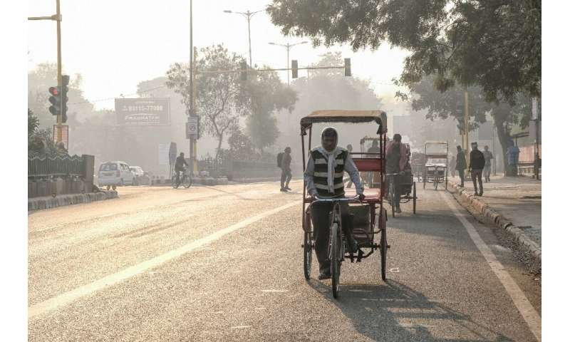 The World Health Organization ranks New Delhi as the world's most polluted capital