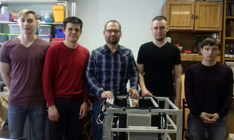 TSU scientists are creating a model of the first 3D ultrasonic printer