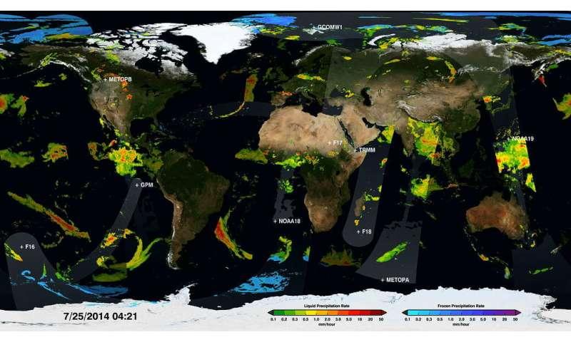 Two decades of rain, snowfall from NASA's precipitation missions