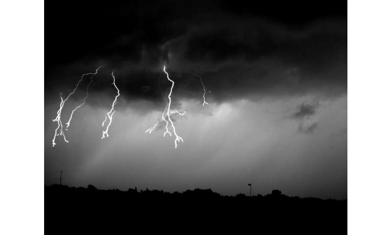 UNH researchers find unusual phenomenon in clouds triggers lightning flash
