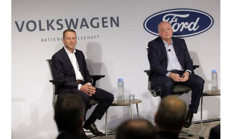 VW, Ford team up to make autonomous, electric vehicles