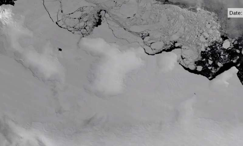 Warm ocean water attacking edges of Antarctica's ice shelves