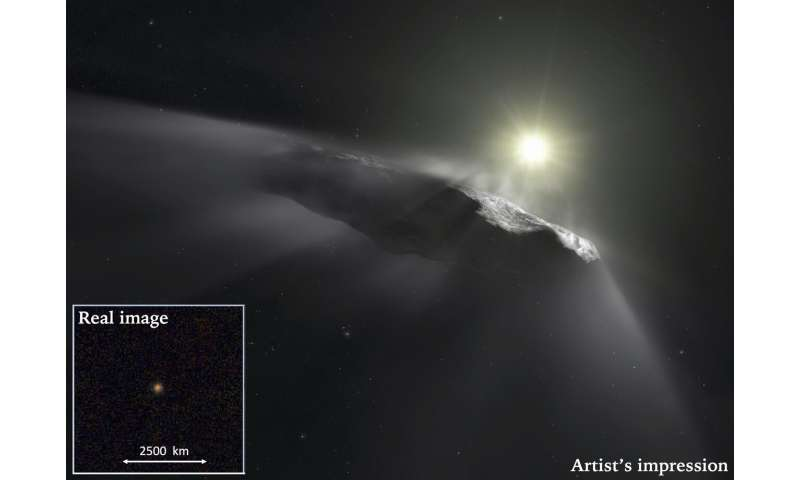 International team of comet and asteroid experts agrees on natural origin for Oumuamua