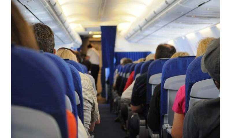 Researchers investigate airplane seat accommodation