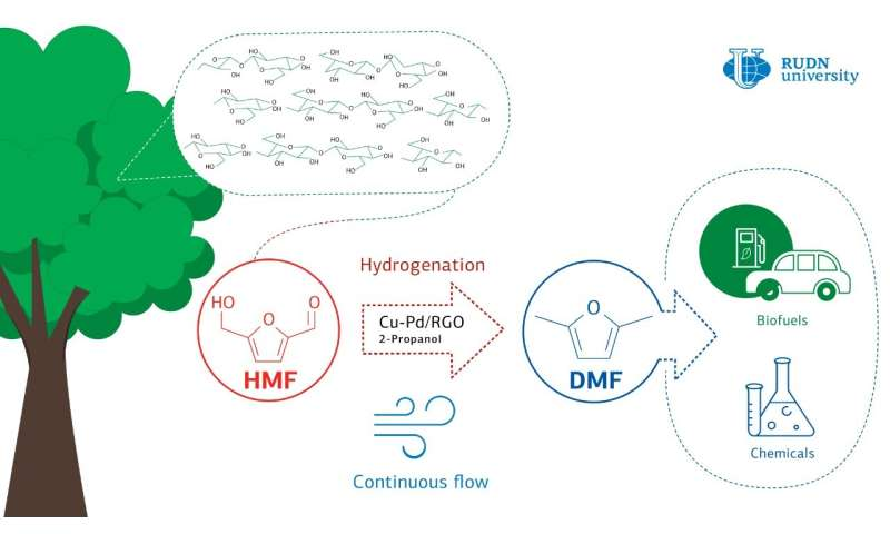 RUDN University chemist found a catalyst to improve biofuel production