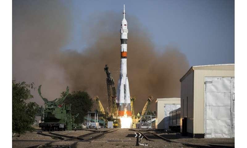 International Space Station crew relocates Soyuz capsule