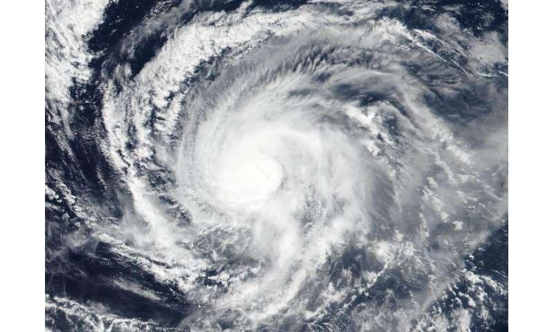 ناسا- NOAA در حال مطالعه مرکز Kiko طوفان استوایی است