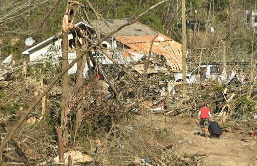 36 tornadoes confirmed in deadly Southeast outbreak