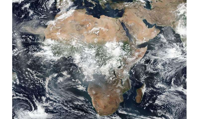 Africa is the 'fire continent' but blazes differ from Amazon