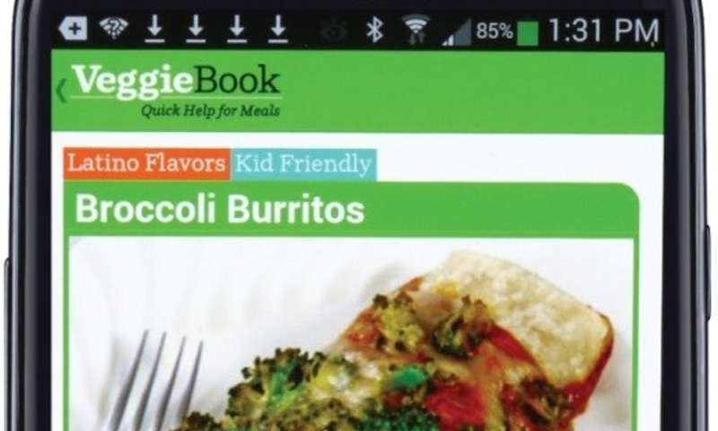 An app that nudges people to eat their veggies only works when it's introduced with a human touch