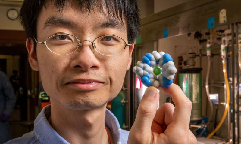 Building a better salt trap: Scientists synthesize a molecular 'cage' to trap chloride
