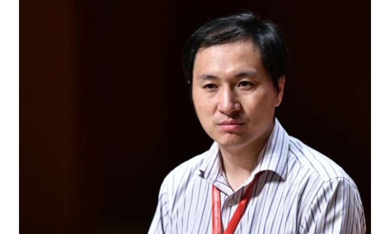 Chinese scientist He Jiankui announced last year that he had altered the DNA of twin girls