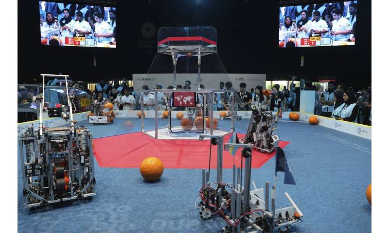 Dubai displays tech reputation with global robotics contest