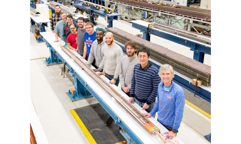 Large Hadron Collider upgrade project leaps forward