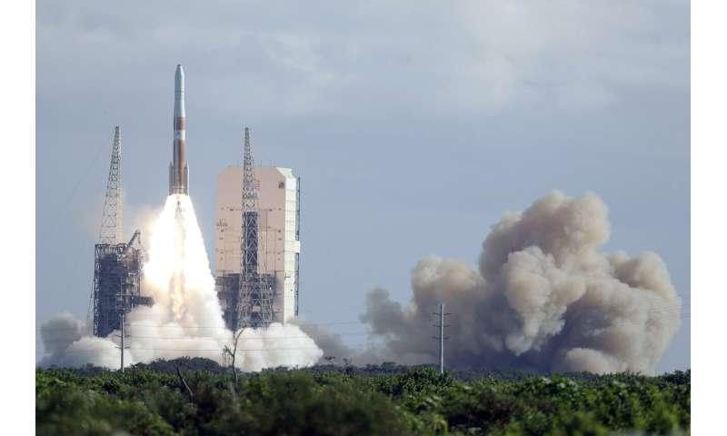 Last of its kind rocket puts GPS satellite in orbit