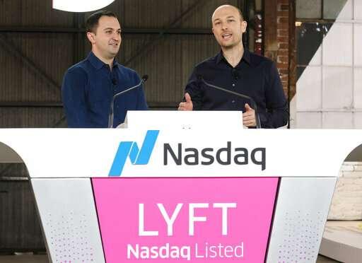 Lyft's shares soar as investors bet on ride-hailing future