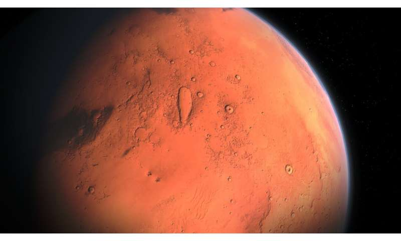 Historic climate change on Mars might be detectable