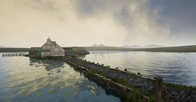 Medieval home of Lords of the Isles reconstructed