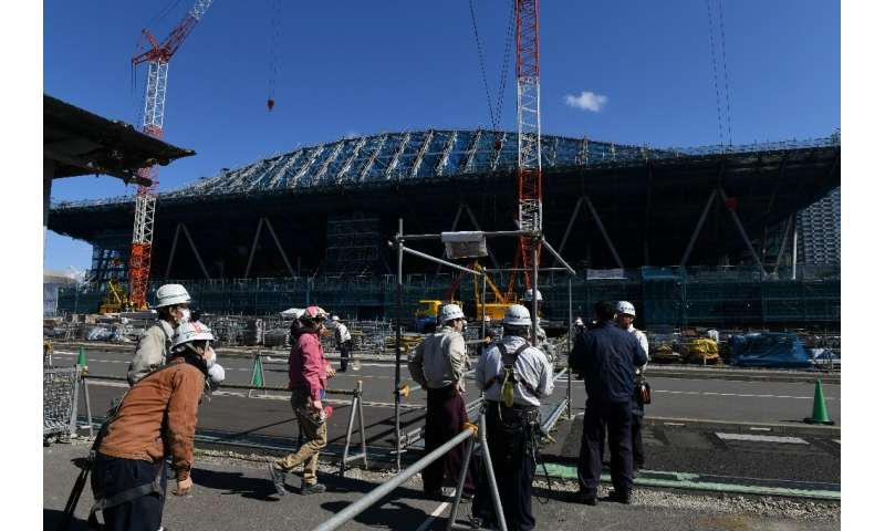 More than half the new venues being built for the Games are already complete